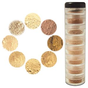 Mineral Makeup Palette NZ — Light to Medium