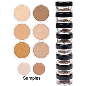 Mineral Makeup Sample Tower