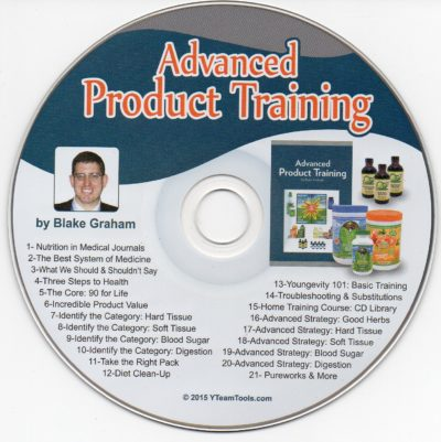 CD – Advanced Product Training – by Blake Graham