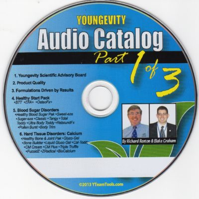CD – Audio Catalog Part 1 – by Blake Graham & Richard Renton