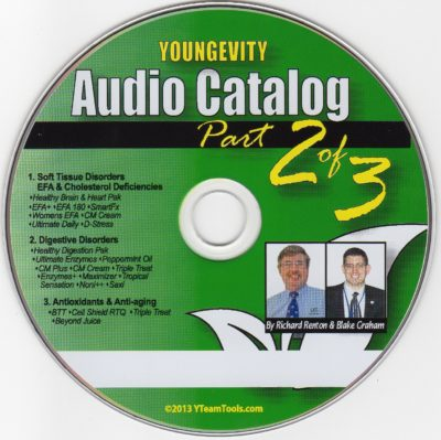CD – Audio Catalog Part 2 – by Blake Graham & Richard Renton