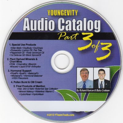 CD – Audio Catalog Part 3 – by Blake Graham & Richard Renton