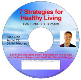 CD – 7 Strategies of Healthy Living (Double CD) – by Ben Fuchs