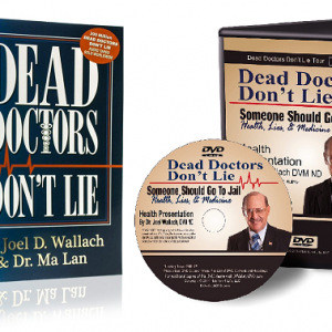 Book/DVD – Dead Doctors Don't Lie – with DVD – By Dr Joel Wallach