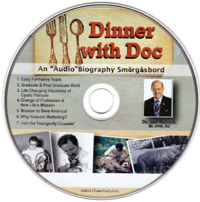CD – Dinner With Doc – by Dr Joel Wallach