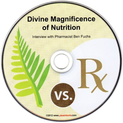 CD – Divine Magnificence of Nutrition – by Ben Fuchs