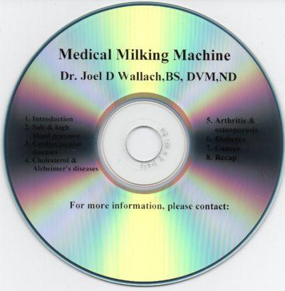 CD – Medical Milking Machine – by Dr Joel Wallach