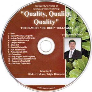 CD – Quality, Quality, Quality – by Richard Renton