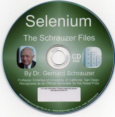 CD – Selenium – by Dr. Gerhard Schrauzer