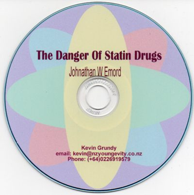 CD – The Dangers of Statins – by Johnathan W Emord