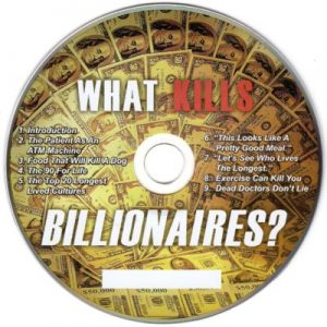 CD – What Kills Billionaires. by Dr Joel Wallach
