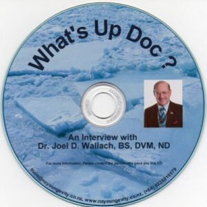 CD – What's Up Doc – by Dr Joel Wallach
