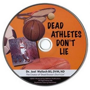 CD – Dead Athletes Don't Lie – by Dr Joel Wallach