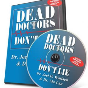 Book – Dead Doctors Don't Lie – with CD – By Dr Joel Wallach