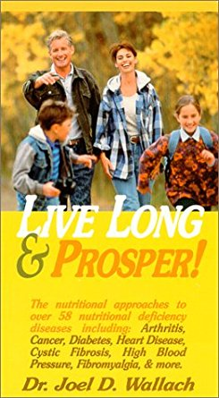 DVD – Live Long & Prosper – By Dr Joel Wallach