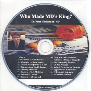 CD – Who Made MD's King? – by Dr. Peter Glidden